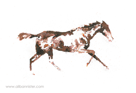The Horse in Motion #7