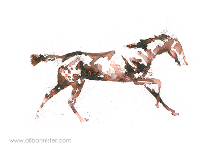 The Horse in Motion #8