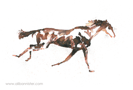 The Horse in Motion #14